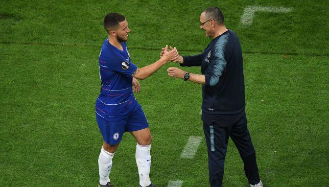 Sarri has hailed Hazard's character.