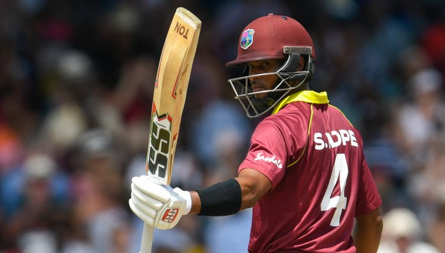 Back-to-back ODI centuries for Shai Hope.