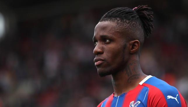 Wilfred Zaha is ready to make the step up from Crystal Palace.