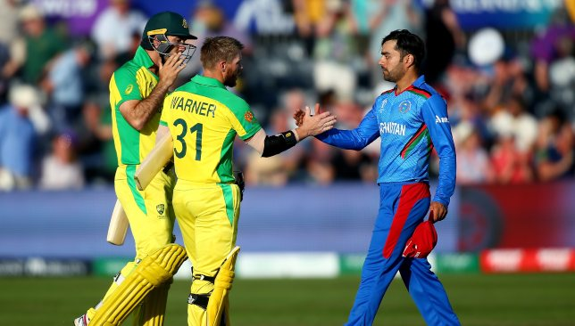 Afghanistan were brushed aside with ease by the Aussies.