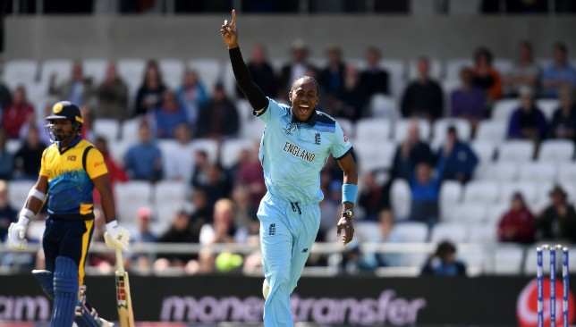 Archer has been England's best bowler in the tournament.