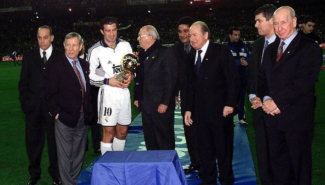 Ballon d'Or winner Luis Figo
