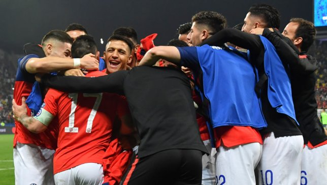 Chile were frustrated by VAR, while Peru were grateful, in the previous round.