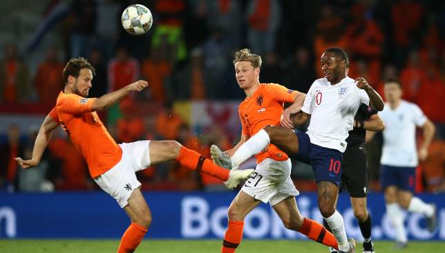 Daley Blind and the Dutch set up a Nations League final showdown with Portugal after a 3-1 win over England.