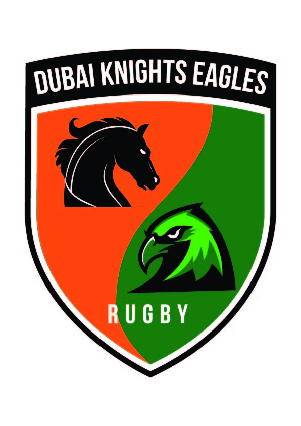 Dubai Knights Eagles Rugby Logo