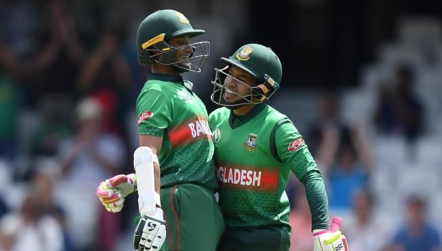 Mushfiqur Rahim and Shakib show their experience.
