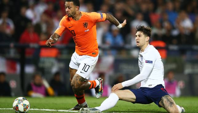 John Stones' horrendous error led to the Dutch taking a 2-1 lead.