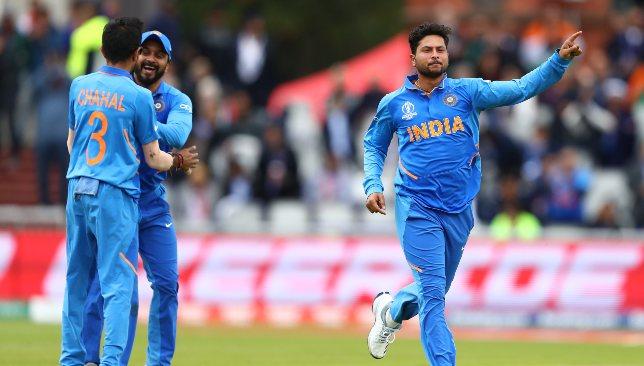 Kuldeep is one of India's chief wicket-taking threats.