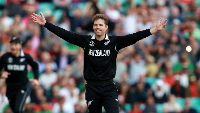 New Zealand pacer Lockie Ferguson.