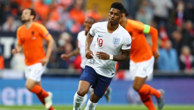 Rashford's penalty put England ahead