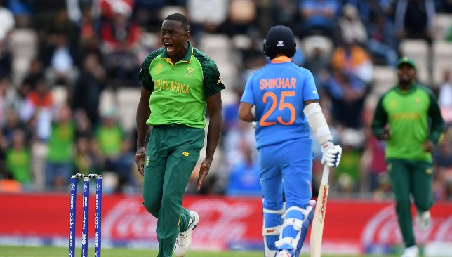 Rabada was in menacing form against India.
