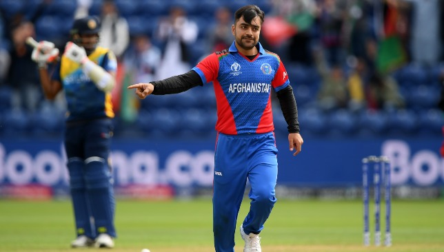 Seven wickets in total for Rashid.