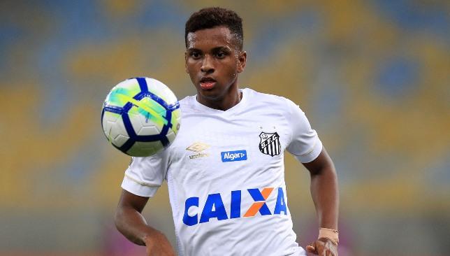 Rodrygo made his mark at Santos.