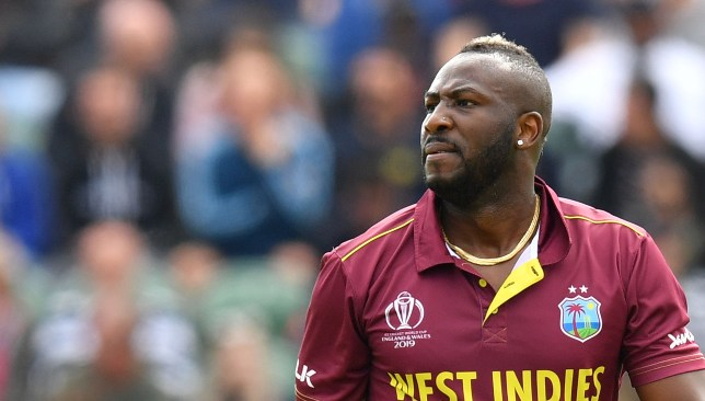 Andre Russell's World Cup was cut short prematurely.