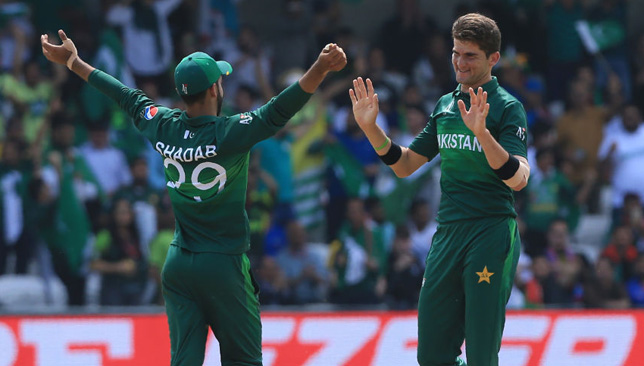 Shaheen Afridi picked up four.