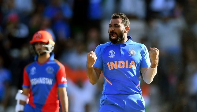 Shami becomes second Indian to take a World Cup hat-trick.