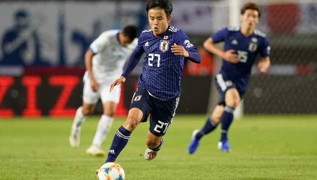 Kubo made his senior Japanese bow in a Copa America warm-up game against El Salvador last week.