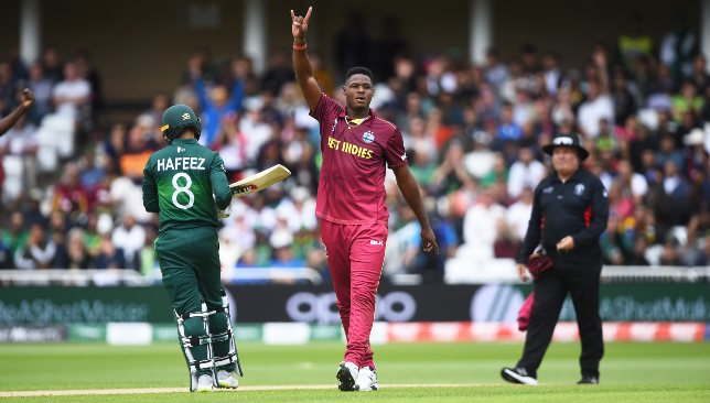 Windies were unrelenting with their bouncers against Pakistan.