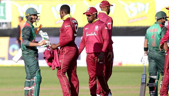 Bangladesh beat Windies thrice in the recent series in Ireland.