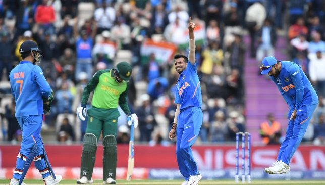 Chahal torments South Africa again.