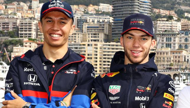 Albon (l) and Gasly (r).