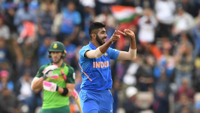 Bumrah has been lively with the new ball in the World Cup.