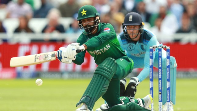 Hafeez top-scored for Pakistan with 84.