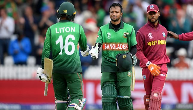Shakib and Litton Das made short work of a 322-run chase.