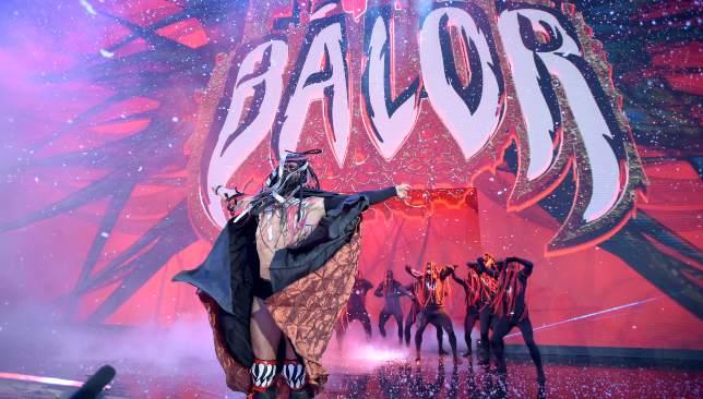 The Demon Finn Balor's entrance was spectacular