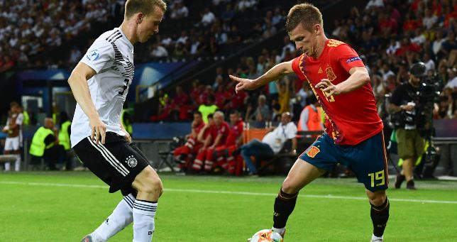 competitive price ad95f 9ef13 Man United target Dani Olmo and other Euro U-21 starlets now ...