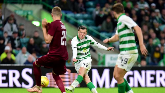 McGregor scored the winner on the night for Celtic.