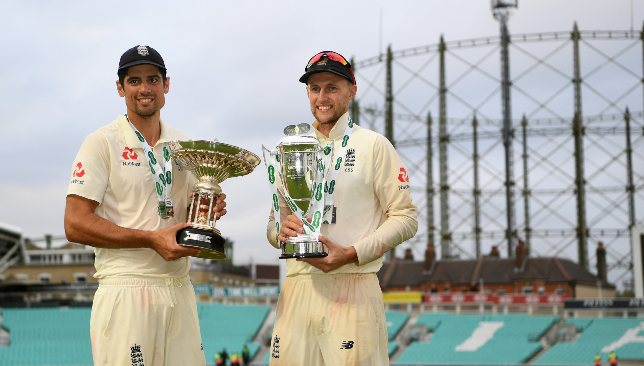 England have struggled to replace Cook (l).