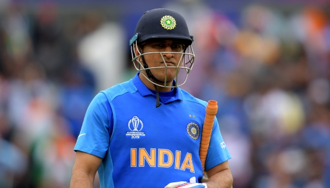 India veteran MS Dhoni.
