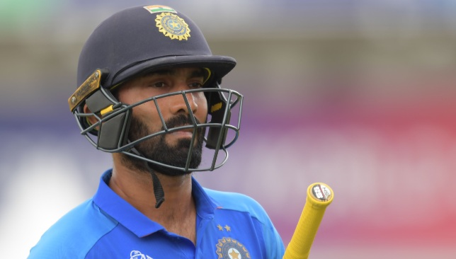 Could be curtains for Karthik's India career.