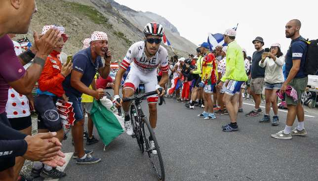 Fabio Aru enjoyed a return to form at Le Tour, finishing 14th overall.