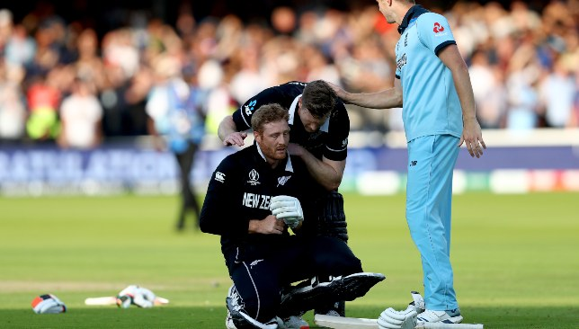 Nothing went right for Guptill with the bat.
