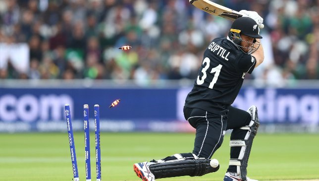Guptill has been out of sorts completely.