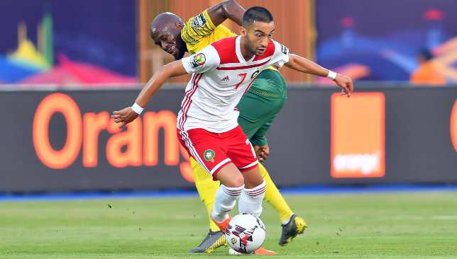 Morocco and Hakim Ziyech flopped at AFCON this year.