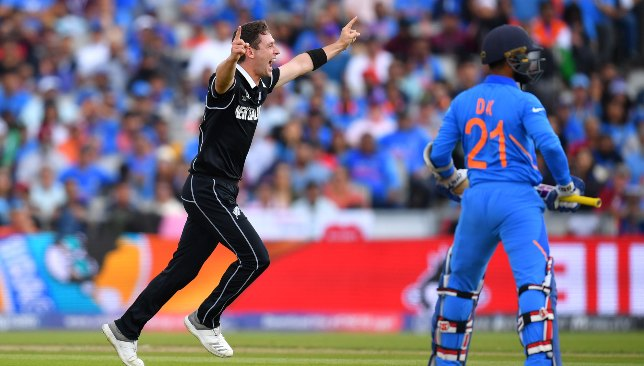 Henry rattled India's top-order in the semi-final.