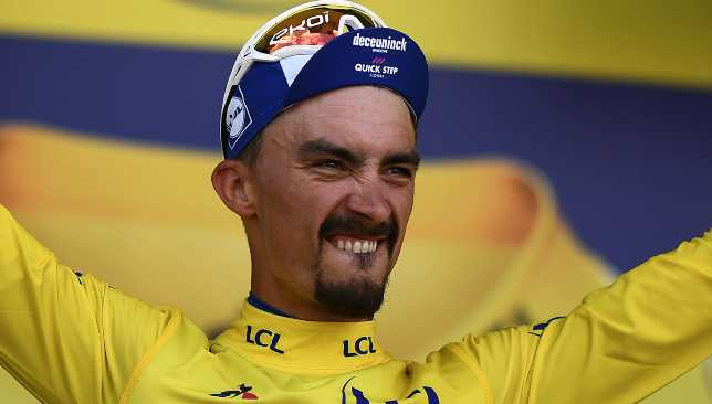 Julian Alaphilippe is defying the odds in a bid to become the Tour de France's first home champion in 36 years.