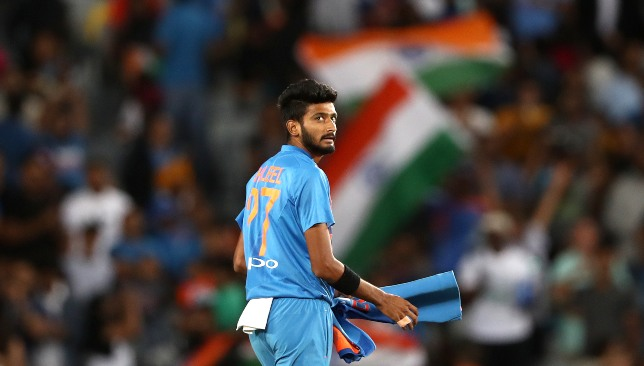 India need Khaleel's left-arm pace variation.