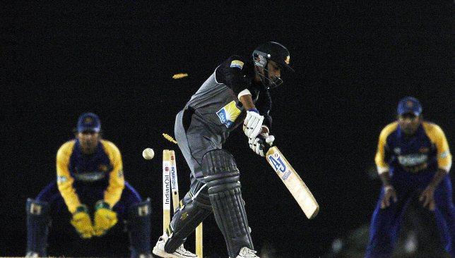 UAE's Khurram Khan was Malinga's first ODI victim.