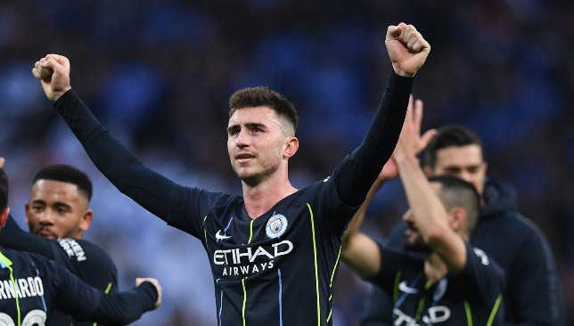 Laporte made 40 appearances for City last season.