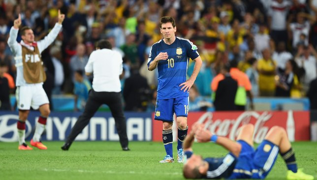 Messi bounced back brilliantly after the 2014 World Cup final loss.