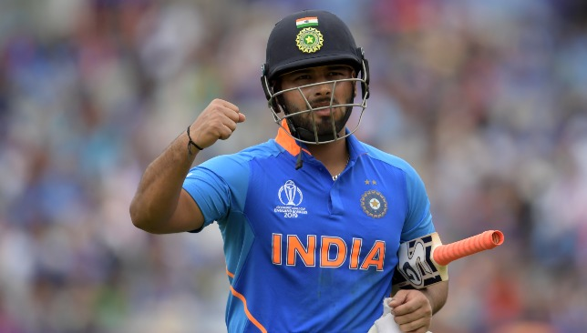 Pant is ready to take up Dhoni's mantle.