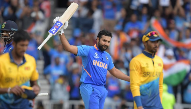 Rohit created a new World Cup record.