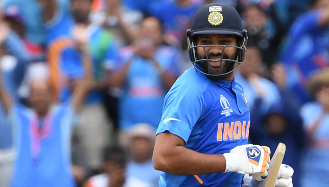 Rohit Sharma scored his fourth century of the 2019 World Cup.