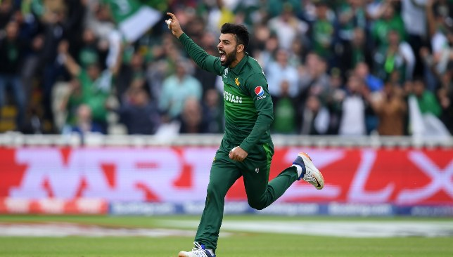 Shadab was good in Pakistan's last four matches.