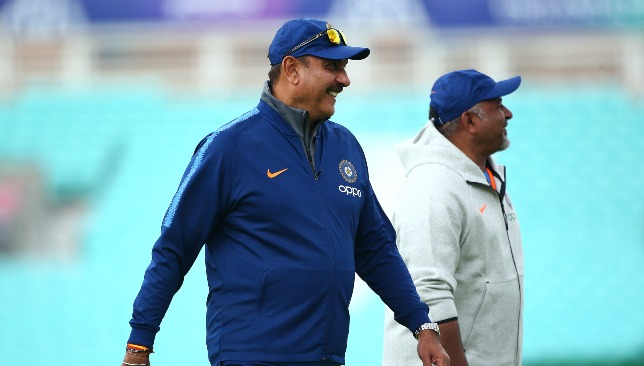 Shastri has been the head coach of India since 2017.