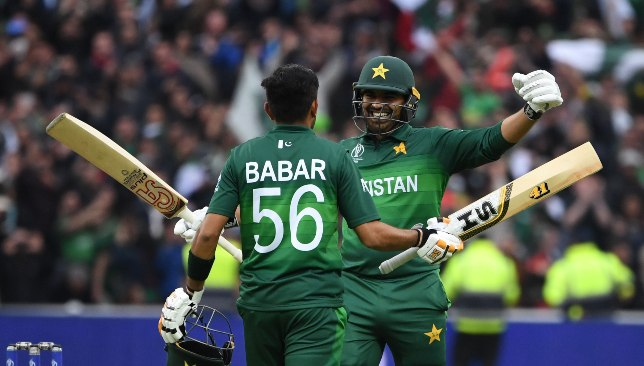 Babar and Sohail were Pakistan's two best batsmen.